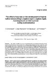 "Báo cáo khoa học: "" The effect of sucrose on the development of hybrid walnut microcuttings (Juglans nigra x Juglans regia). Consequences on their survival during acclimatization"""