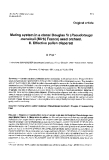 "Báo cáo khoa học: ""Mating system in a clonal Douglas fir (Pseudotsuga menziesii (Mirb) Franco) seed orchard. II. Effective pollen dispersal"""