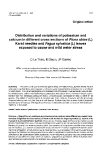 """Báo cáo khoa học: """"Distribution and variations of potassium and calcium in different cross sections of Picea abies Karst needles and Fagus sylvatica (L) leaves exposed to ozone and mild water stress"""""""
