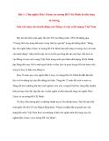 Tư tưởng Hồ Chí Minh: Bài 1: Chủ nghĩa Mác-Lênin, tư tưởng Hồ Chí Minh là nền tảng tư tưởng, kim chỉ nam cho hành động của Đảng và của cách mạng Việt Nam