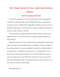 Tư tưởng Hồ Chí Minh: Bài 2: Đảng Cộng sản Việt Nam - nhân tố quyết định mọi thắng lợi của Cách mạng Việt Nam