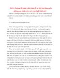 Tư tưởng Hồ Chí Minh: Bài 4: Đường lối phát triển kinh tế-xã hội bảo đảm quốc phòng, an ninh nước ta trong tình hình mới