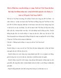 Tư tưởng Hồ Chí Minh: Bài 6: Phát huy truyền thống vẻ vang, Tuổi trẻ Việt Nam thi đua học tập, lao động sáng tạo, xung kích tình nguyện xây dựng và bảo vệ Tổ quốc Việt Nam XHCN