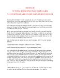 Tư tưởng Hồ Chí Minh: CHƯƠNG III TƯ TƯỞNG HỒ CHÍ MINH VỀ CHỦ NGHĨA XÃ HỘI VÀ CON ĐƯỜNG QUÁ ĐỘ LÊN CHỦ NGHĨA XÃ HỘI Ở VIỆT NAM