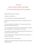 Tư tưởng Hồ Chí Minh: CHƯƠNG VII MỘT SỐ VẤN ĐỀ VỀ VẬN DỤNG VÀ PHÁT TRIỂN TƯ TƯỞNG HỒ CHÍ MINH TRONG CÔNG CUỘC ĐỔI MỚI