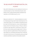 Tư tưởng Hồ Chí Minh: Học tập tư tưởng Hồ Chí Minh nghĩa là phải sống và làm việc tốt hơn