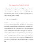 Tư tưởng Hồ Chí Minh: Phép dùng người của Chủ tịch Hồ Chí Minh