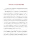 Tư tưởng Hồ Chí Minh: THẢO LUẬN: TƯ TƯỞNG HỒ CHÍ MINH