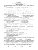 Ôn tập vật lí 12 Chuyên đề 5: Trắc nghiệm Điện xoay chiều