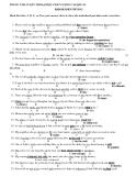 TRUNG TÂM LUYỆN THI ĐẠI HỌC CHẤT LƯỢNG CAO QSC-45 ERROR IDENTIFYING