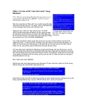 """Phần I: Cơ bản về lỗi """"màn hình xanh"""" trong WindowsTTO"""