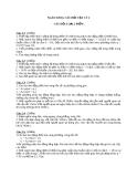 Ngân hàng câu hỏi vật lý 2