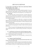 BÀI GIẢNG QUẢN LÝ SẢN XUẤT NÔNG NGHIỆP - BÀI 8