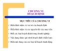 Bài giảng quản trị học - Chương 6