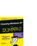 Cleaning Windows XP FOR dummies phần 1
