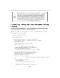 ODP .NET Developer's Guide oracle database 10g development with visual studio 2005 phần 2