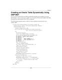 ODP .NET Developer's Guide oracle database 10g development with visual studio 2005 phần 4