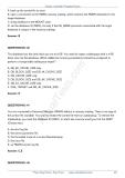 Oracle Database 10g Administration ii Practice TestVersion phần 3