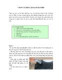 5 bước làm sạch bàn phím