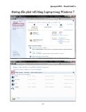 Hướng dẫn phát wifi bằng Laptop trong Windown 7