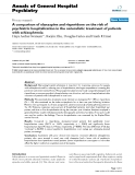 """Báo cáo y học: """" A comparison of olanzapine and risperidone on the risk of psychiatric hospitalization in the naturalistic treatment of patients with schizophrenia"""""""