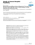 """Báo cáo y học: """"Relationship among Dexamethasone Suppression Test, personality disorders and stressful life events in clinical subtypes of major depression: An exploratory study"""""""