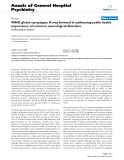 """Báo cáo y học: """"WHO global campaigns: A way forward in addressing public health importance of common neurological disorders"""""""
