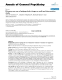 """Báo cáo y học: """"Primary care use of antipsychotic drugs: an audit and intervention study"""""""