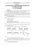 Cơ học kết cấu I - chương 2