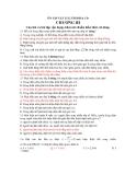 ÔN TẬP VẬT LÍ 12 THI ĐH & CĐ - CHƯƠNG III