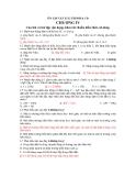 ÔN TẬP VẬT LÍ 12 THI ĐH & CĐ -  CHƯƠNG IV