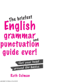 The briefest English grammar and punctuation guide ever