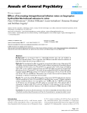 "Báo cáo y học: ""Effect of increasing intraperitoneal infusion rates on bupropion hydrochloride-induced seizures in mice"""