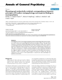 """Báo cáo y học: """"Mourning and melancholia revisited: correspondences between principles of Freudian metapsychology and empirical findings in neuropsychiatry"""""""