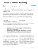 "Báo cáo y học: ""Obsessive-compulsive disorder and related disorders: a comprehensive survey"""