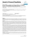"""Báo cáo y học: """"Factors Influencing Depression Endpoints Research (FINDER): baseline results of Italian patients with depression"""""""