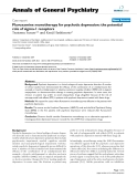 """Báo cáo y học: """"Fluvoxamine monotherapy for psychotic depression: the potential role of sigma-1 receptors"""""""