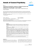 """Báo cáo y học: """"Treatment of psychotic symptoms in bipolar disorder with aripiprazole monotherapy: a meta-analysis"""""""