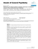"""Báo cáo y học: """"Well-being of medical students and their awareness on substance misuse: a cross-sectional survey in Pakistan"""""""