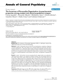 """Báo cáo y học: """"The Inventory of Personality Organisation: its psychometric properties among student and clinical populations in Japan"""""""