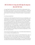 Tài liệu Tư tưởng Hồ Chí Minh: Hồ Chí Minh với công cuộc kiến lập nền cộng hòa dân chủ Việt Nam