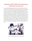 Tài liệu Tư tưởng Hồ Chí Minh: Quan điểm của Hồ Chí Minh về Xây dựng lực lượng toàn dân bảo vệ an ninh, trật tự