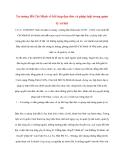 Tài liệu Tư tưởng Hồ Chí Minh: Tư tưởng Hồ Chí Minh về kết hợp đạo đức và pháp luật trong quản lý xã hội