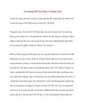 Tài liệu Tư tưởng Hồ Chí Minh: Tư tưởng Hồ Chí Minh về thanh niên