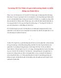 Tài liệu Tư tưởng Hồ Chí Minh: Tư tưởng Hồ Chí Minh với quá trình trưởng thành và chiến thắng của Quân đội ta