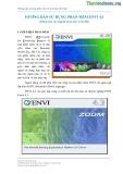 Hướng dẫn sử dụng phần mềm ENVI