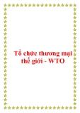 Giáo trình quan hệ kinh tế quốc tế - Tổ chức thương mại thế giới - WTO
