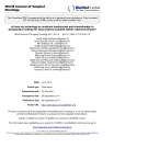"""báo cáo khoa học: """"Is there any advantage to combined trastuzumab and chemotherapy in perioperative setting Her 2neu positive localized Gastric Adenocarcinoma?"""""""