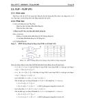 Bài giảng kỹ thuật số ứng dụng - Chương 2 ( tiếp theo )