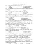 ĐỀ ÔN TẬP HÓA HỌC CƠ BẢN – ĐỀ SỐ 8